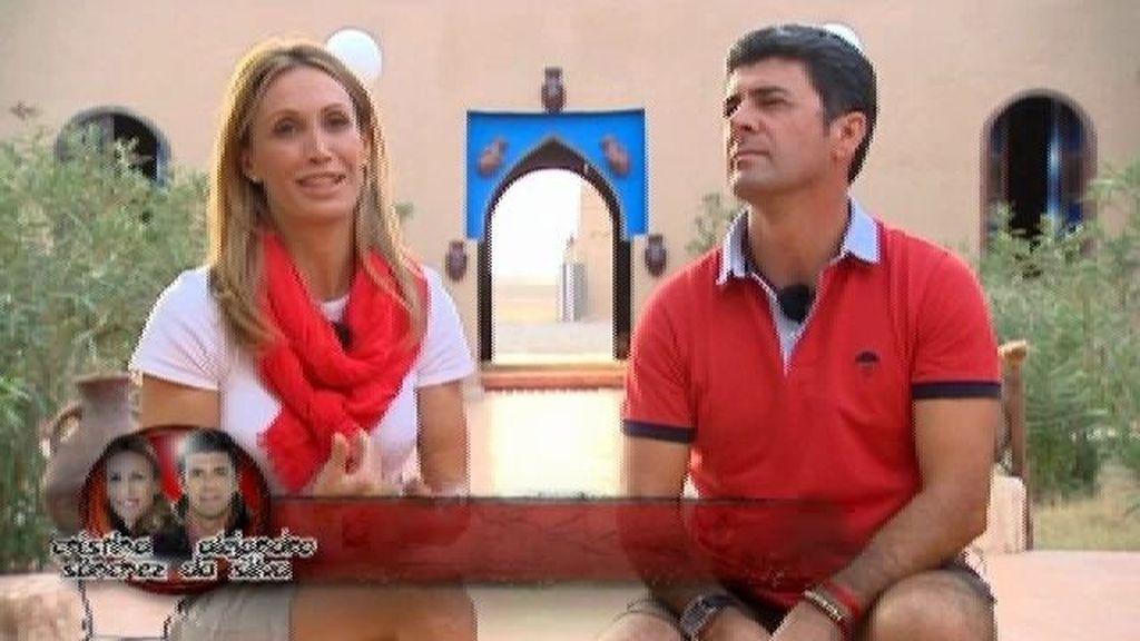 Equipo rojo: Cristina y Alejandro