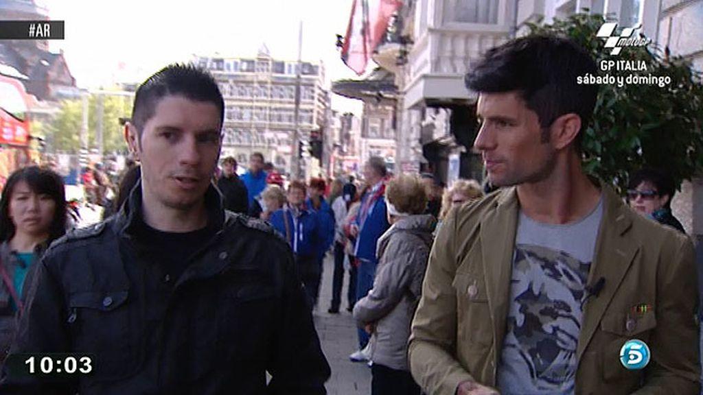Pablo Martínez busca trabajo en Amsterdam
