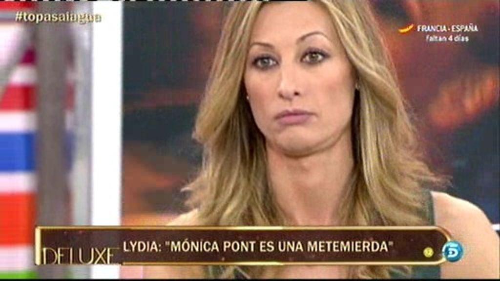 Mónica Pont insinúa que Lydia podría haber puesto los cuernos a su marido