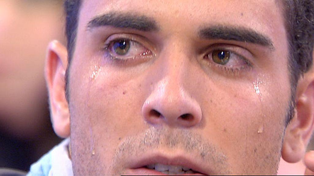 El llanto del tenista
