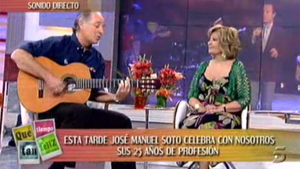 Soto canta a María Teresa
