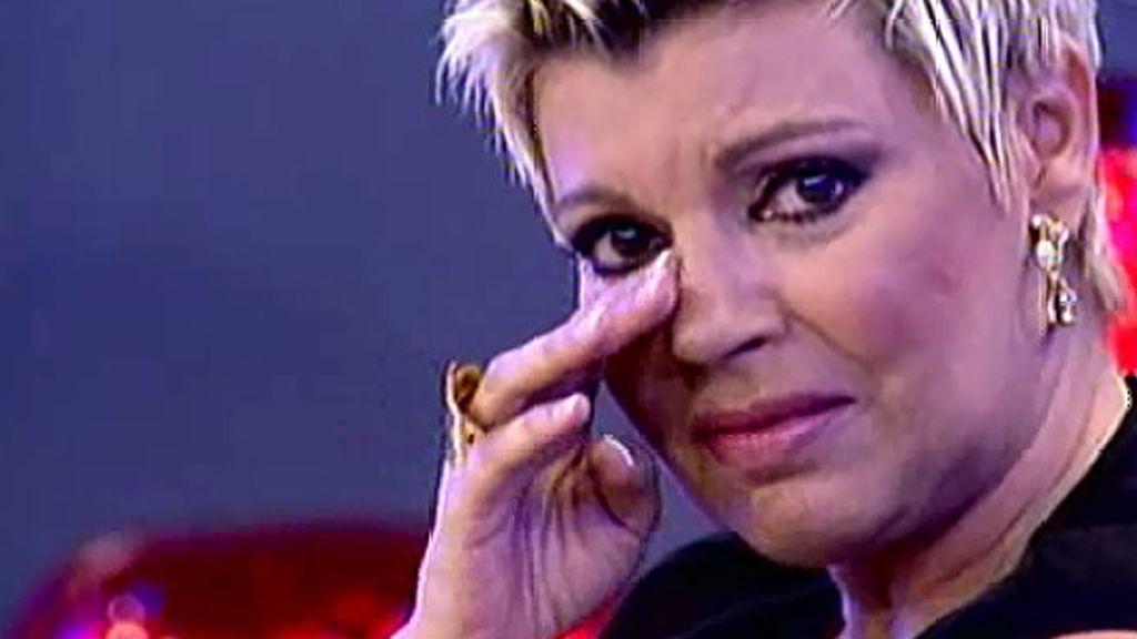 Terelu Campos se emociona con una llamada de su madre
