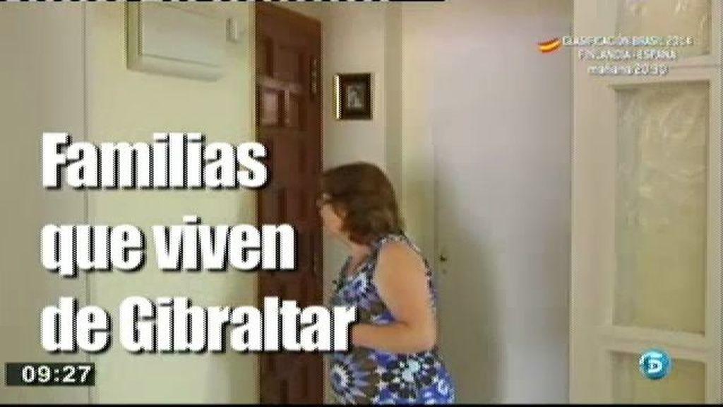 Las familias que viven de Gibraltar, las más afectadas por el conflicto