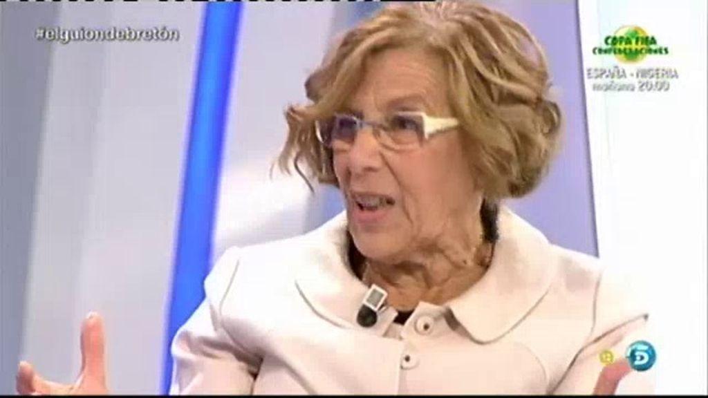"""Manuela Carmena, jueza: """"Soy totalmente partidaria del Jurado popular"""""""