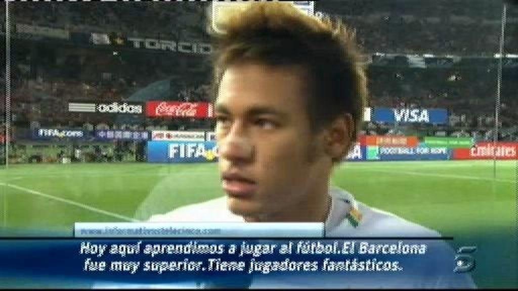 Declaraciones de Neymar tras el partido
