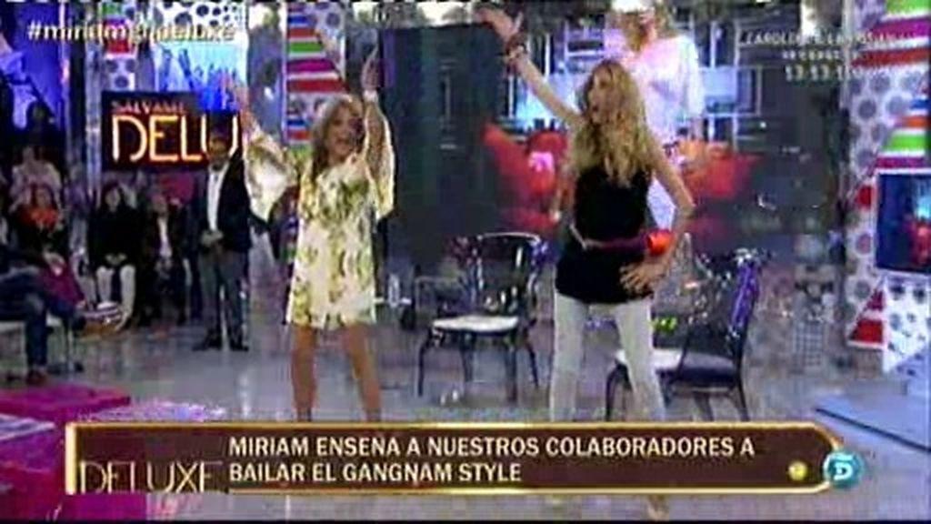 Miriam enseña su 'Gangnam Style'