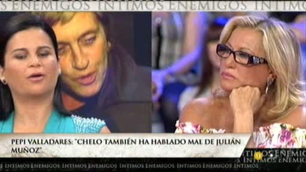 Pepi Valladares sobre Julián