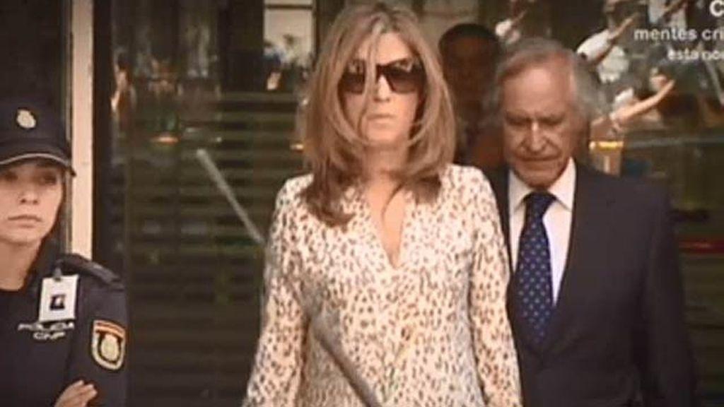 La llegada de Bárcenas y su mujer a la Audiencia Nacional