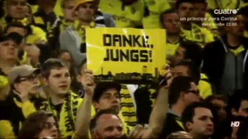 El Borussia Dortmund luchó hasta el final