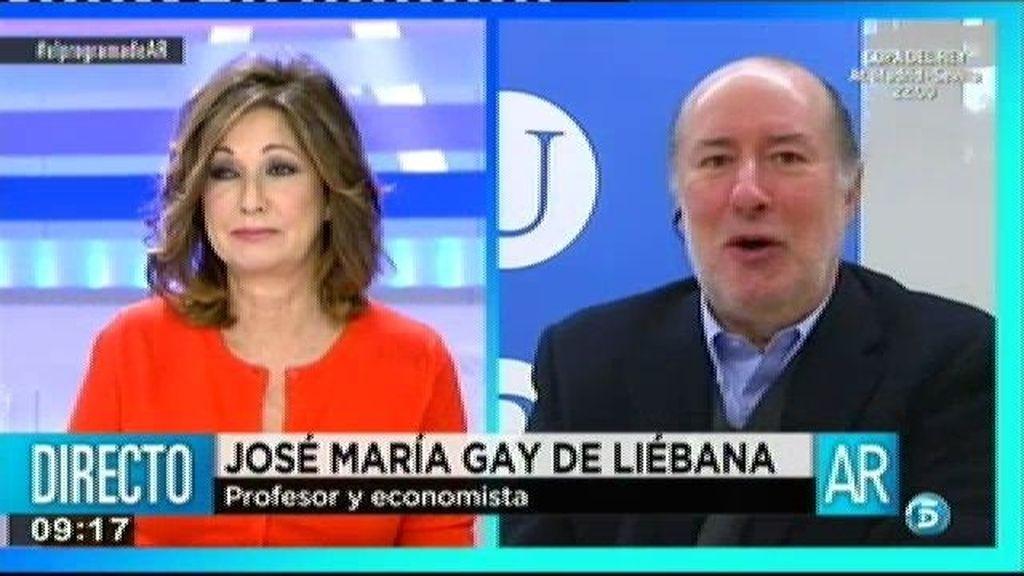 """Gay de Liébana: """"Si estas personas no han tributado, el país no es moralmente higiénico"""""""