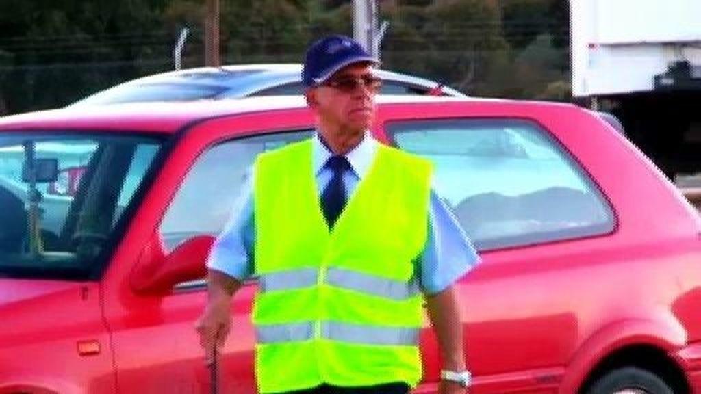 Remigio, el guardián de coches y autocares