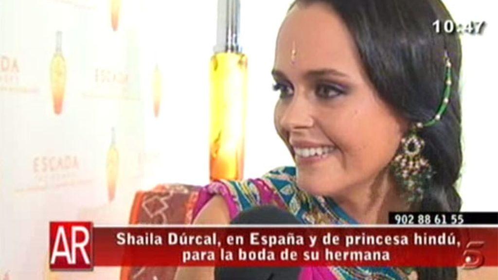 Shaila Dúrcal, feliz