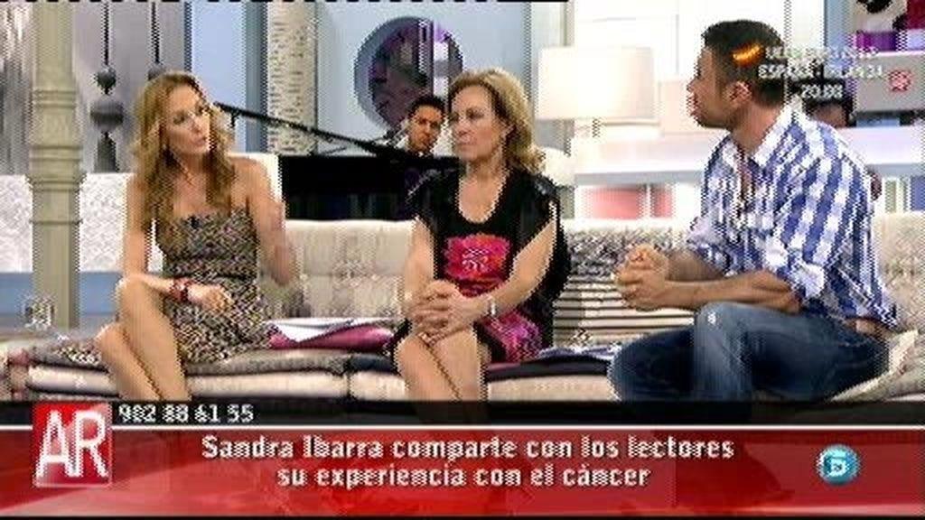 """Sandra Ibarra: """"Hay que vivir cada día como protagonista de tu vida no como enfermo de cáncer"""""""