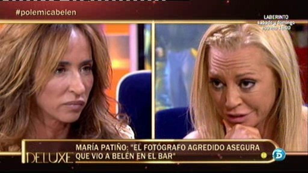 """María Patiño: """"El fotógrafo agredido asegura que vio a Belén en el bar"""""""