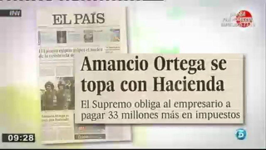 Amancio Ortega tendrá que pagar más impuestos