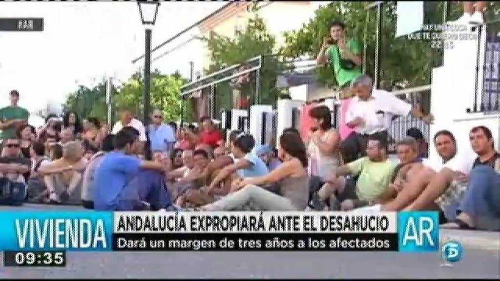 Andalucía expropiará a los bancos ante el desahucio