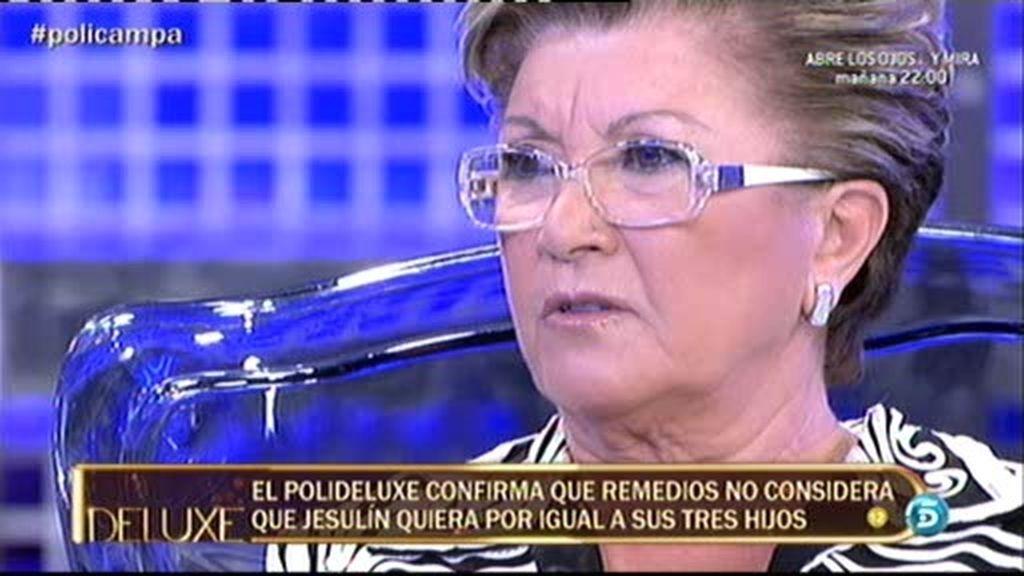 Remedios Torres miente al decir que Andrea fue invitada mes y medio antes a la comunión