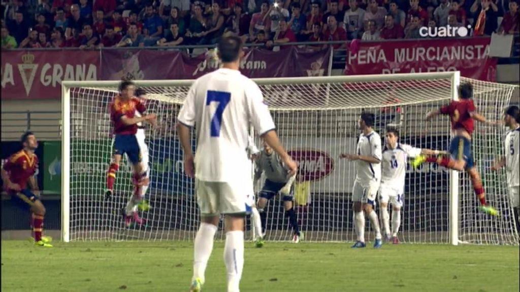 Gol de Saúl Ñíguez (España 2-1 Bosnia)