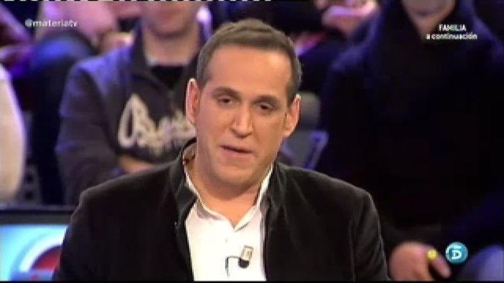 """Aurelio Manzano: """"Fran optó por mentir a Belén porque si no lo hacía se enfadaba"""""""