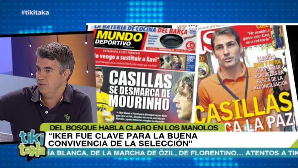 """""""Una parte de la selección tiene una mala relación con dos jugadores del Real Madrid"""""""
