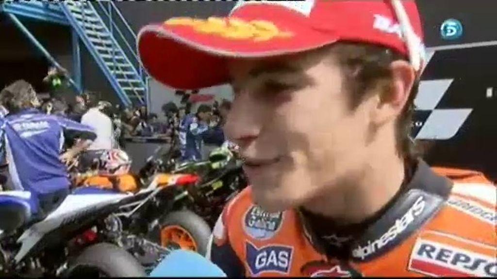 """Márquez: """"Rossi y Pedrosa han impuesto un ritmo más rápido del que me esperaba"""""""