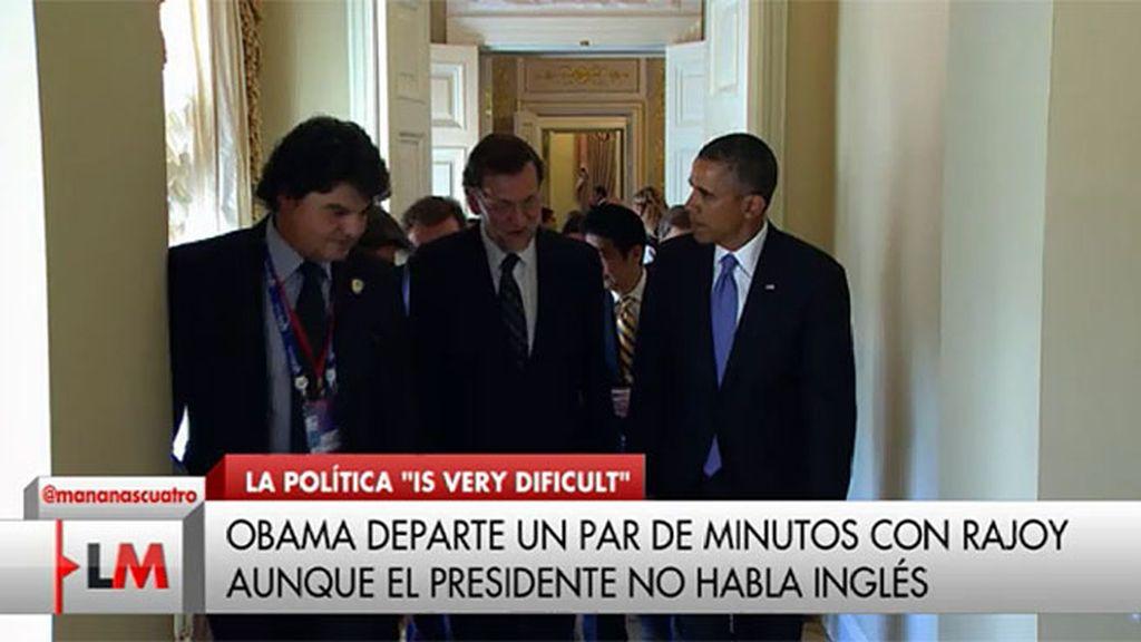 Obama felicita a Rajoy