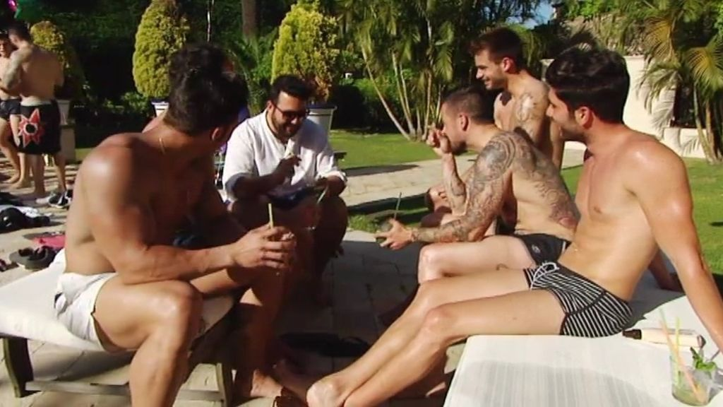 Cuerpos al sol, lanzamientos a la piscina...