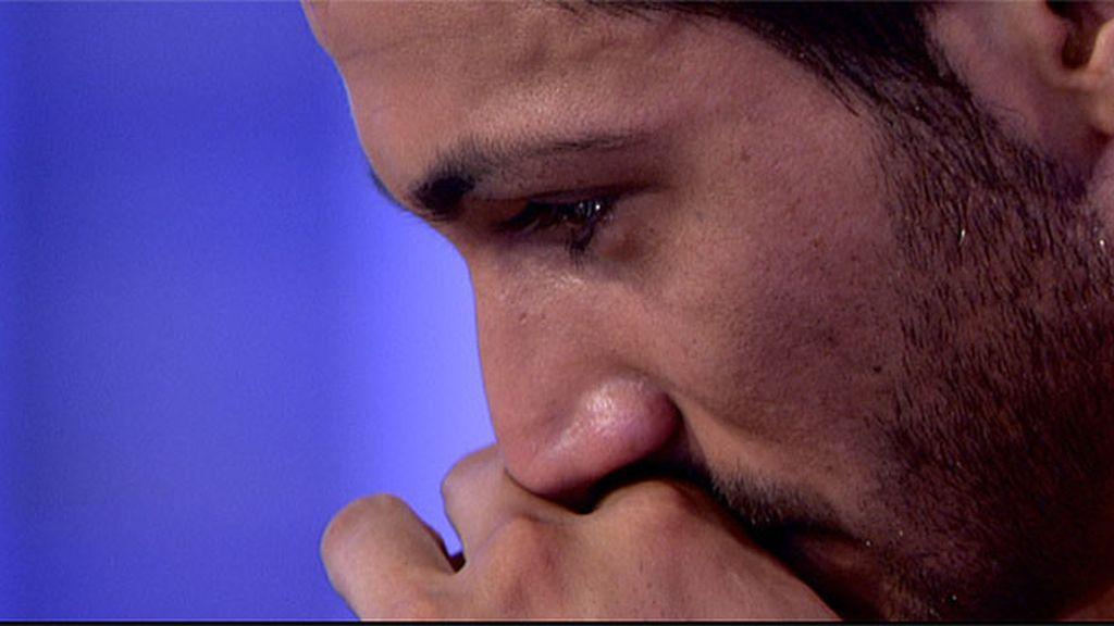 José Luis se derrumba