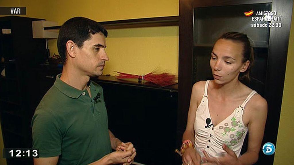 Verónica va a empezar de cero en un pueblo de Badajoz junto a su madre