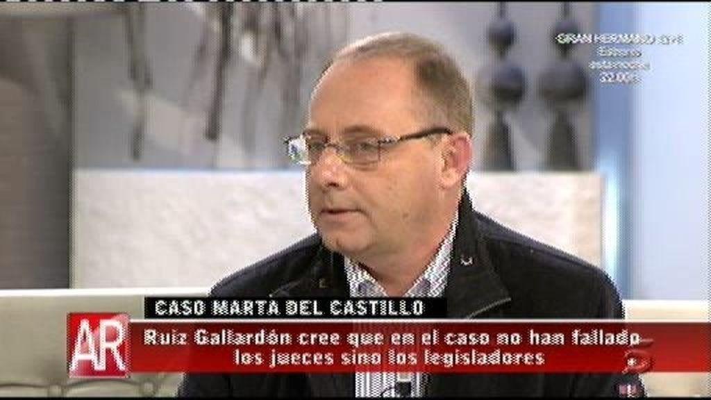 """Antonio del Castillo, al CGPJ: """"Hay mucha gente opinando sin conocer el sumario"""""""