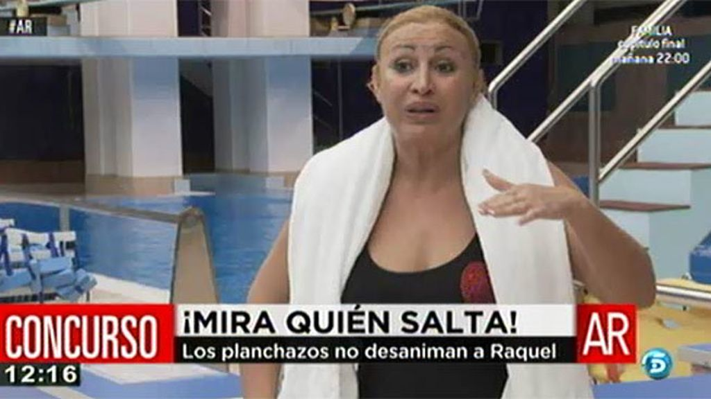 """Raquel Mosquera: """"Hasta que no lo consiga no paro"""""""
