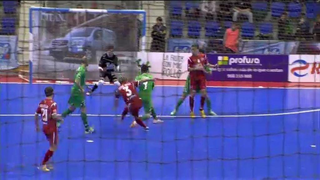 Gol de José Ruiz (Navarra 0-1 ElPozo)