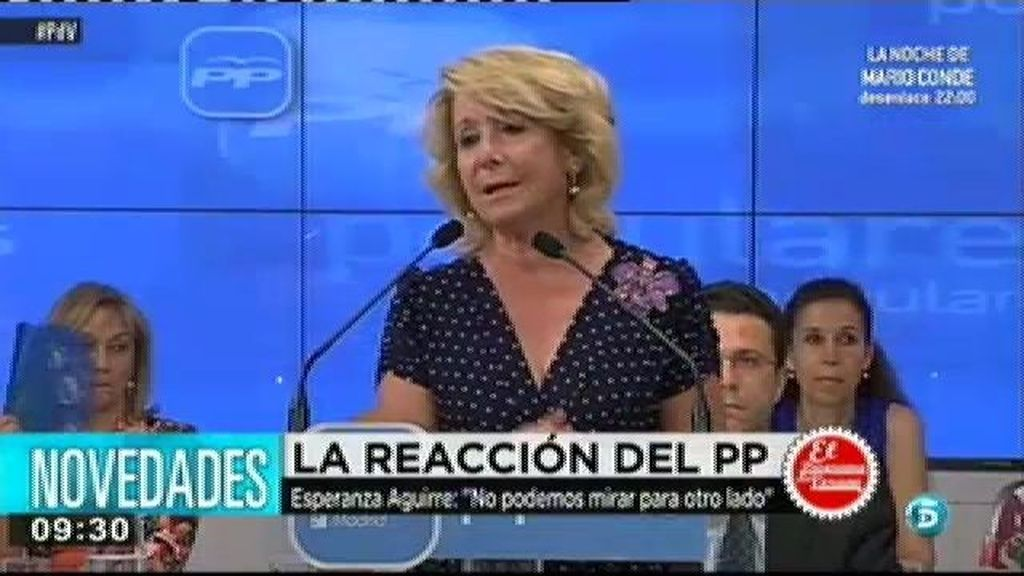 Ignacio González muestra su malestar con Esperanza Aguirre