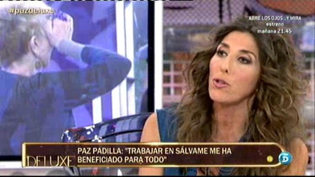 """Paz Padilla: """"No soy cotilla. No me interesa el mundo del corazón"""""""