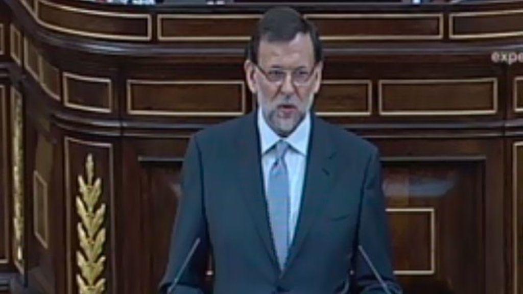 Rajoy habla de nuevas medidas