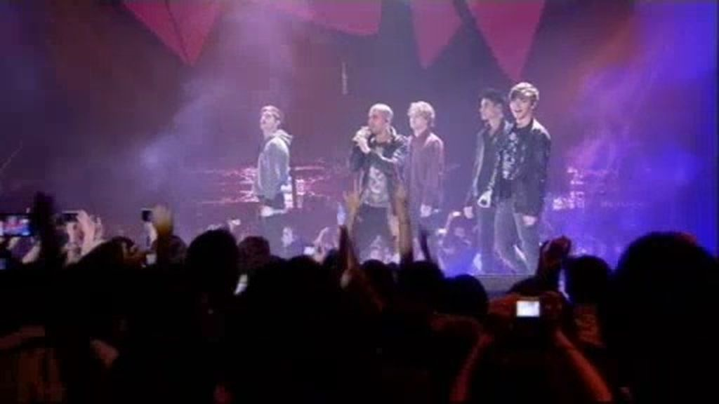 The Wanted interpreta 'Glad you came'