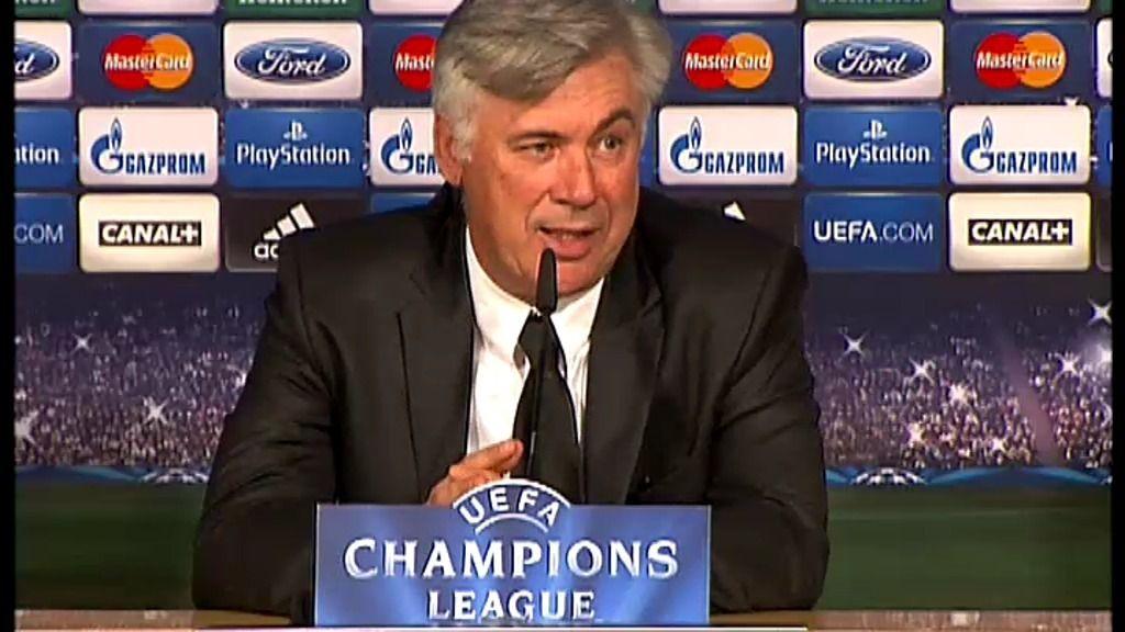 """Carlo Ancelotti: """"¿Tiki Taka? He oído hablar de este programa"""""""