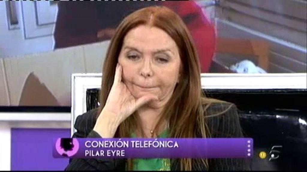 """Pilar Eyre: """"La situación de Teresa es realmente desesperada"""""""