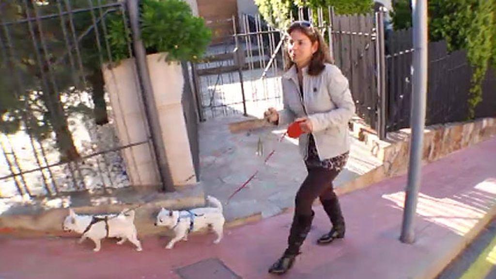 Arantxa y sus perros