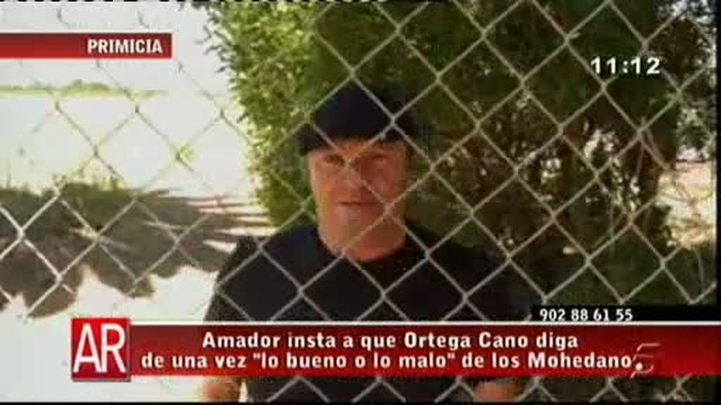 Amador Mohedano sobre Ortega