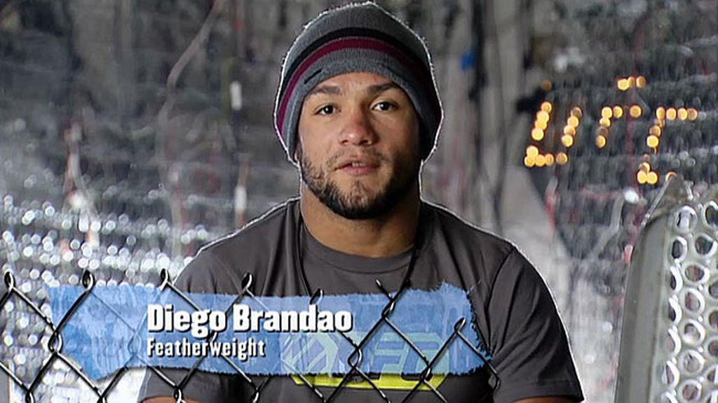 Diego se entrena, convencido de que va a pelear