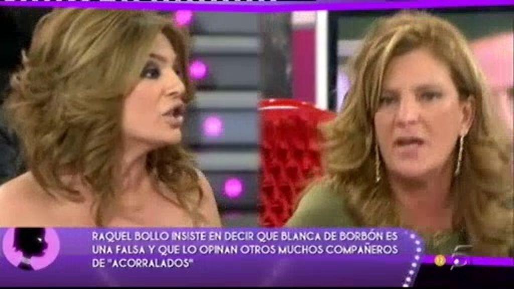 Enfrentamiento entre Raquel Bollo y Blanca de Borbón