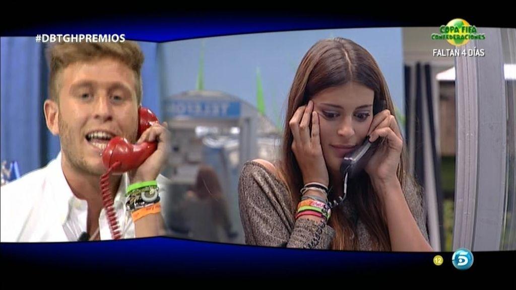 """Gonzalo, por teléfono, a Susana: """"¡Te quiero!"""""""