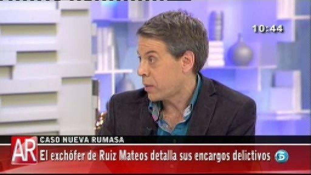 """Yvancos, ex abogado de Ruiz Mateos: """"Destruyeron documentación en el chalet de Somosaguas"""""""