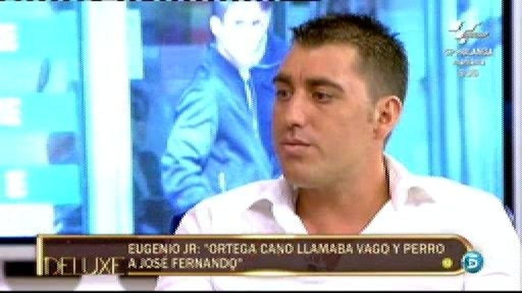 """Eugenio JR: """"Ortega Cano ha sido un hombre violento con su hijo"""""""