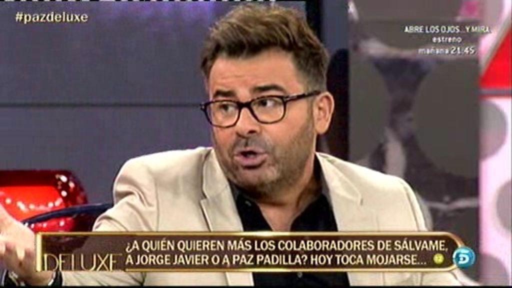 Jorge Javier aclara un malentendido con Paz