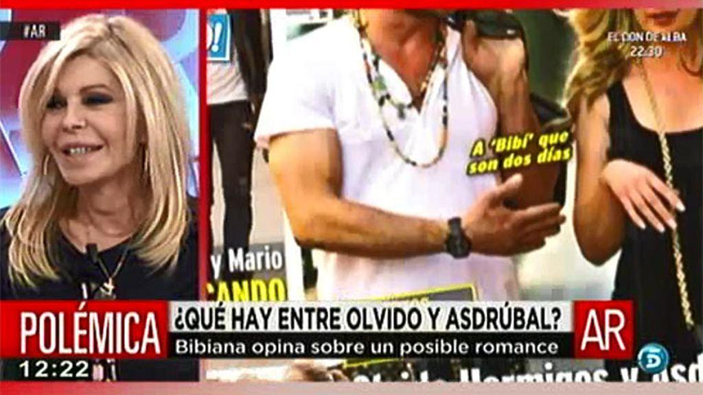 """Bibiana Fernández: """"Si Olvido ha estado con Asdrúbal se lo ha pasado muy bien"""""""