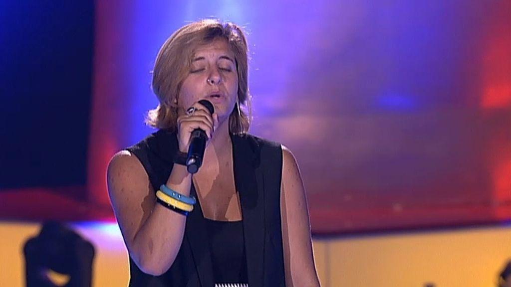 """Carla Vicente: """"Es como si estuviera cantando mi vida a través de esta canción"""""""