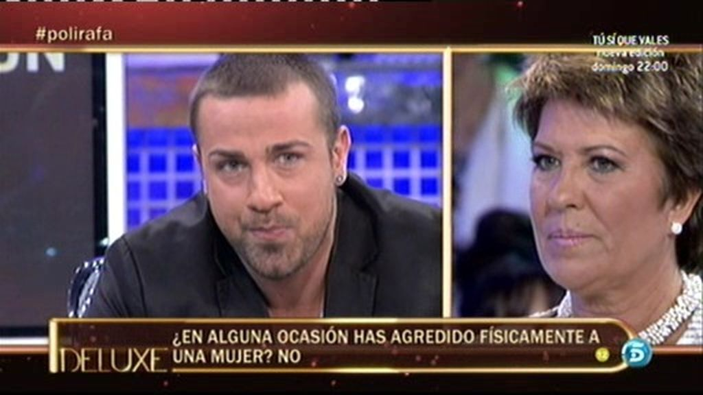 """Rafa Mora: """"No he agredido nunca físicamente a una mujer"""""""