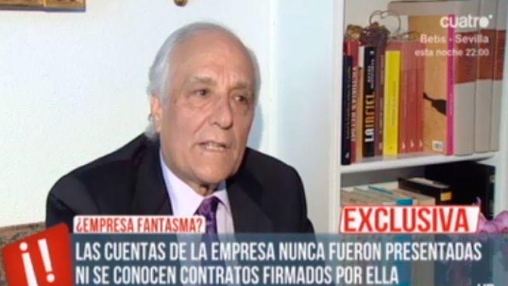 Del Pozo confirma la empresa fantasma de los papeles de Bárcenas: 'Ibérica de Firmes'